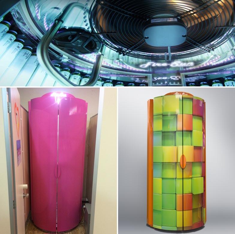 Выбор оборудования при открытии солярий